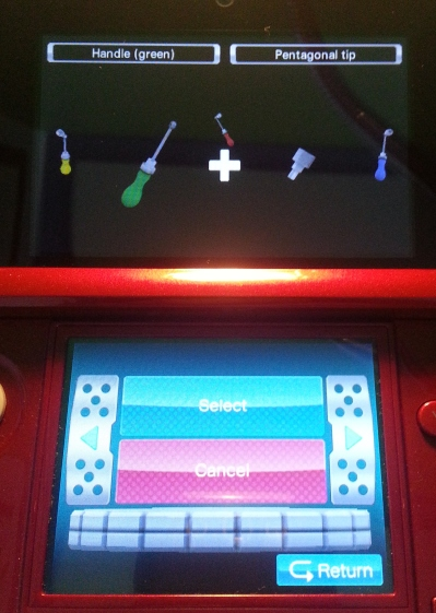 Gameplay on the 3DS