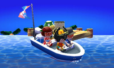 A load of passengers head to the Island, one of the best new features in