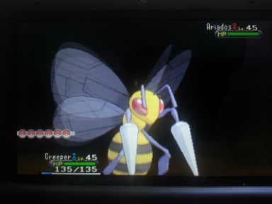 Our old friend Beedrill sounds a bit... buzzier than he used to.