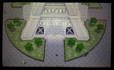 This is maybe 10% of Lumiose City's overall size.