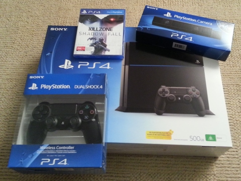 Day one haul, Playstation edition.