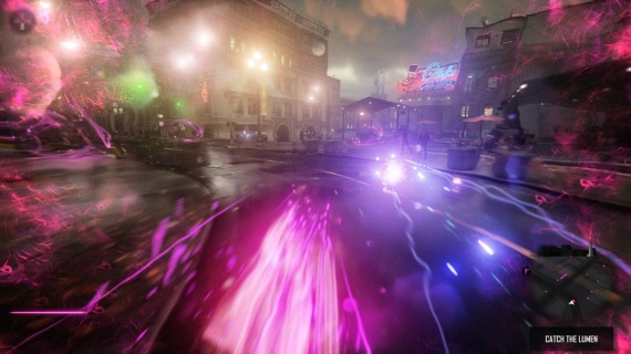 This is neon, so high-speed running is definitely on the agenda.