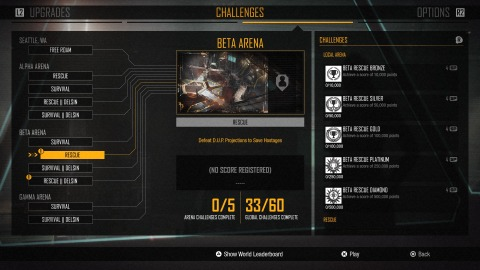 A Second Son install will let you play as Delsin in the arenas.